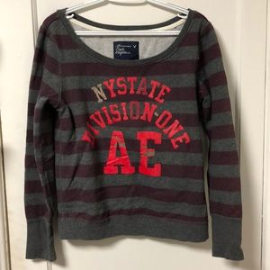 distressed American Eagle sweatshirt